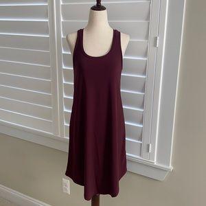 Leith sz XS deep purple high low tank dress